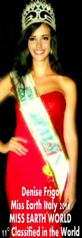 Miss Earth Italy Denis Figo