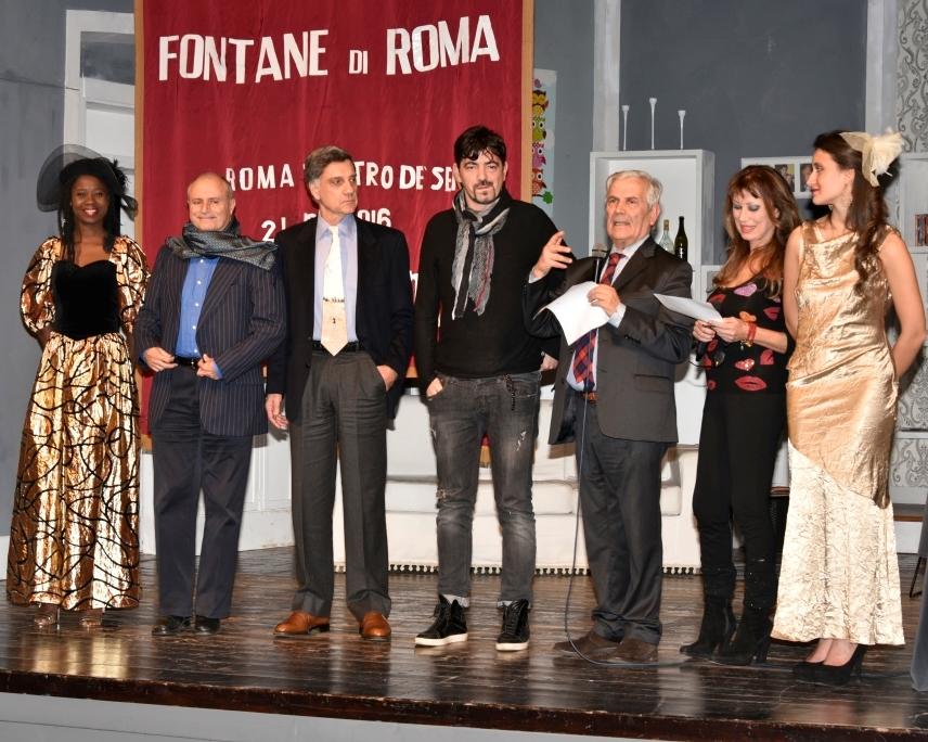 """Nell'accogliente Teatro de'Servi, nel centro di Roma, si è svolta la 34.ma edizione del Premio Internazionale """"Fontane di Roma"""", a cura dell'Accademia """"La Sponda"""", da sempre è impegnata nel valorizzare […]"""