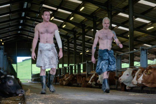 Ewan McGregor e Jonny Lee Miller in T2 Trainspotting