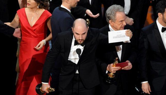 Gaffe Oscar 2017