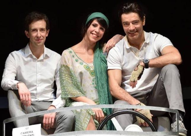 Il sorpasso - Luca Di Giovanni (Roberto), Cristiana Vaccaro (Gianna) e Giuseppe Zeno (Bruno)