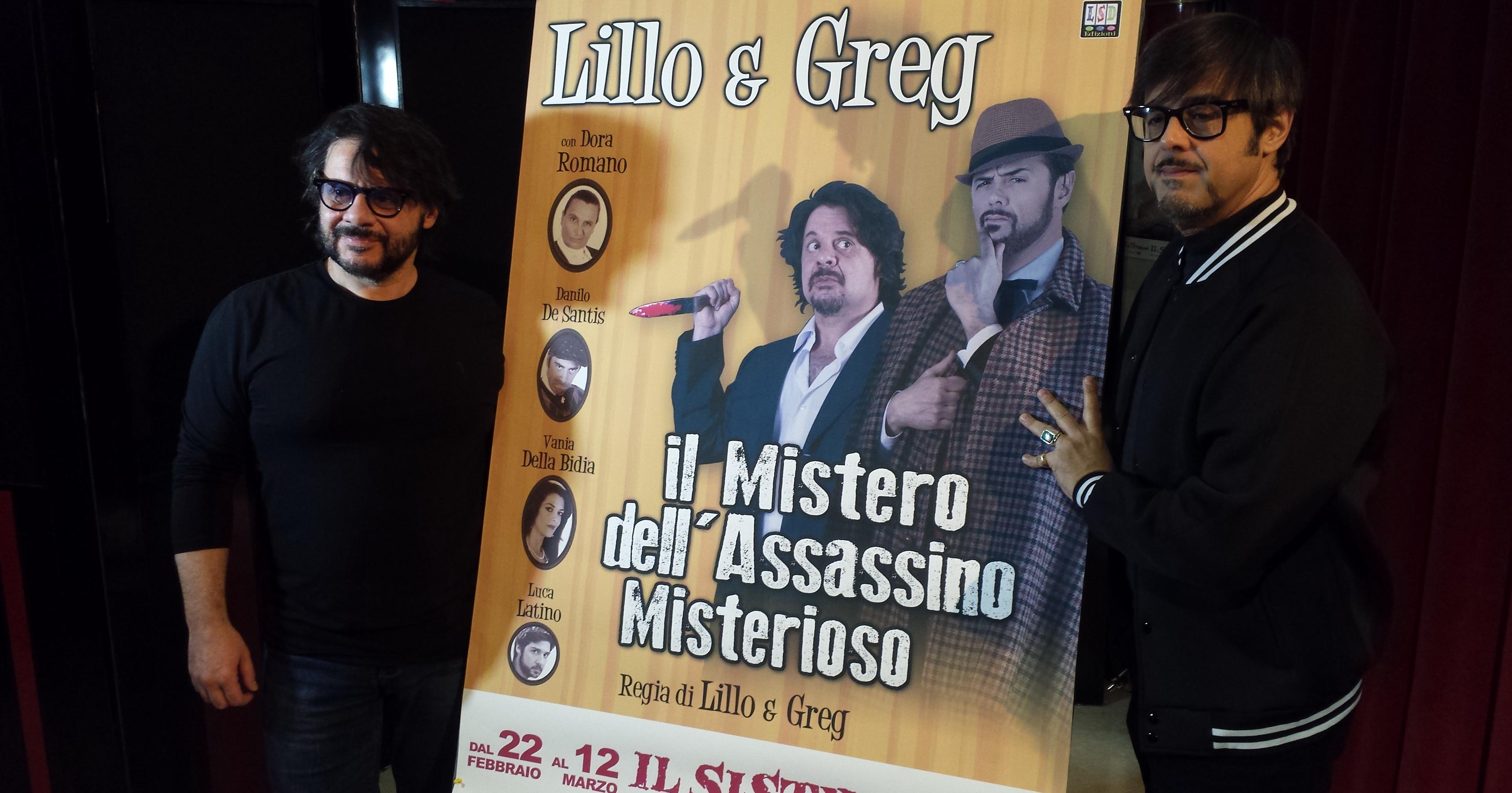 Lillo & Greg al Sistina (foto Ivan Zingariello)
