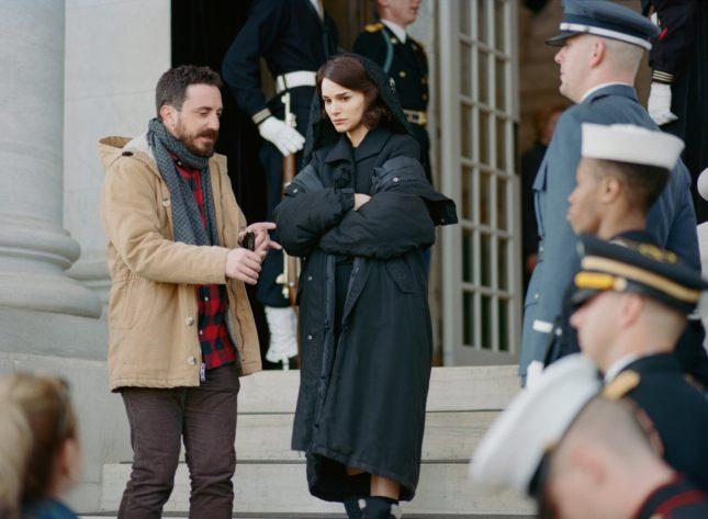 Natalie Portman e Pablo Larraín in Jackie