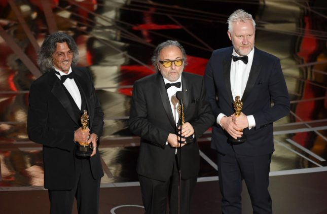 Oscar - Alessandro Bertolazzi, Georgio Gregorini e Christopher Nelson