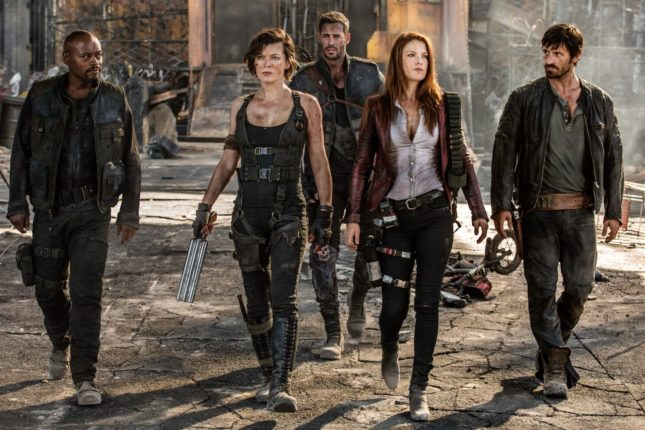Resident Evil - The final chapter - Fraser James, Milla Jovovich, William Levy, Ali Larter ed Eoin Macken