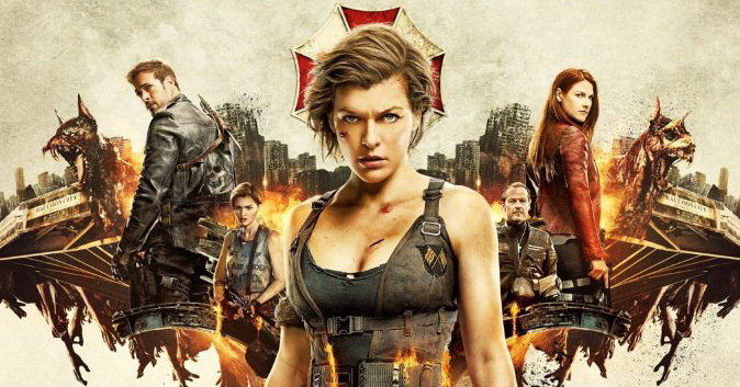 Resident Evil - The final chapter locandina