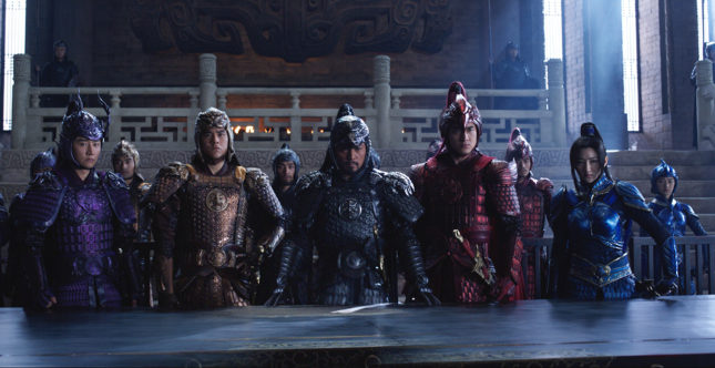 The Great Wall - Le star cinesi