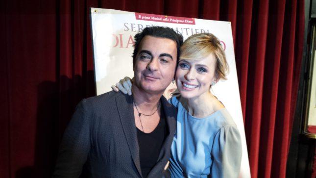 Vincenzo Incenzo e Serena Autieri (foto Ivan Zingariello)