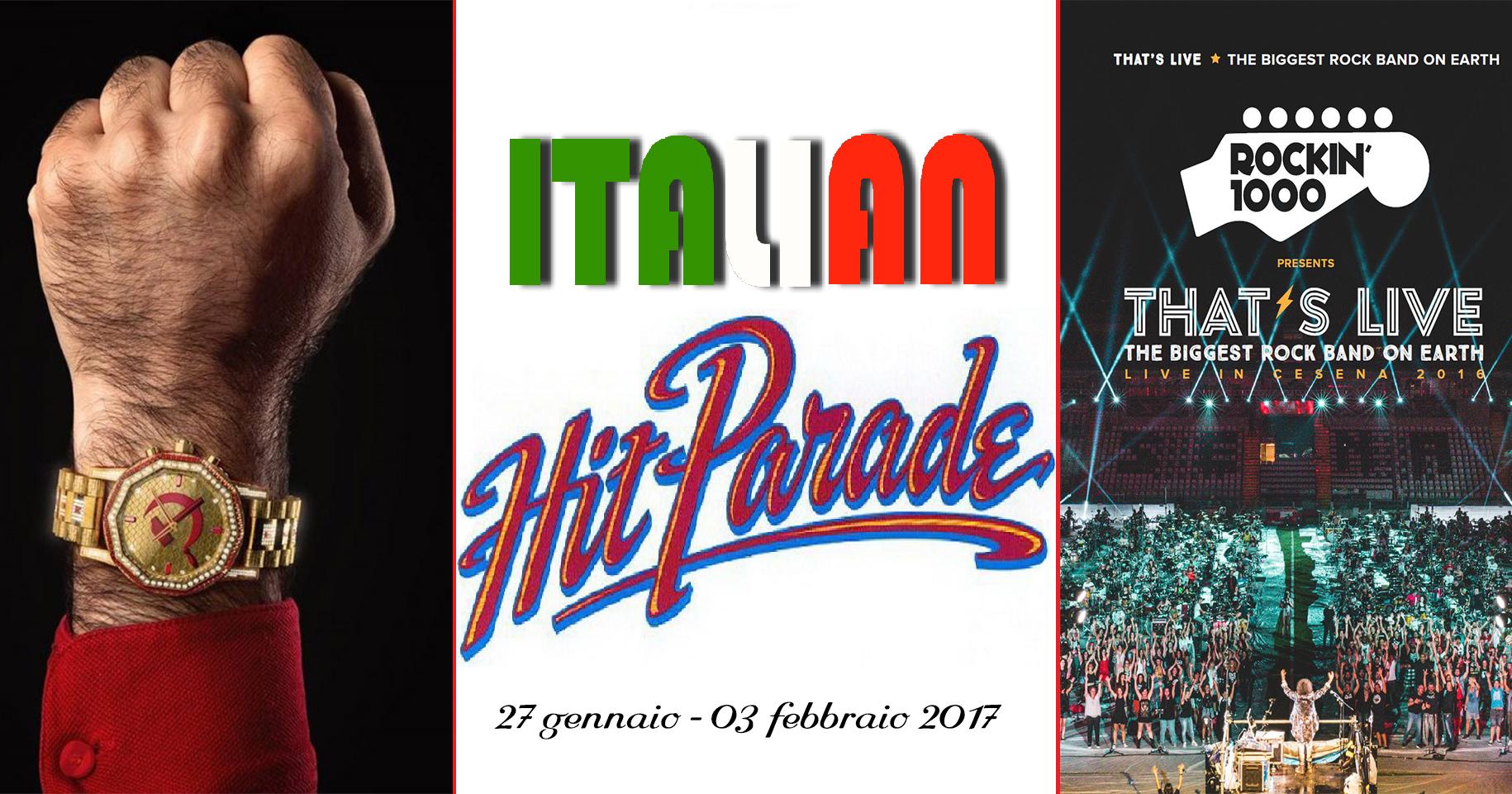 Hit Parade che vede in testa ancora J-Ax & Fedez tra gli album ed Ed Sheeran tra i singoli, mentre i Rockin'1000 suonano la carica. Poche novità nella classifica FIMI […]