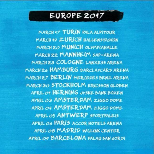Il nuovo tour di Ed Sheeran partirà il prossimo 6 marzo da Torino Divide