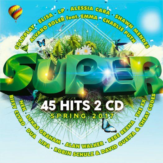 <em>Superhits Spring 2017</em> è la più alta nuova entrata tra le compilation