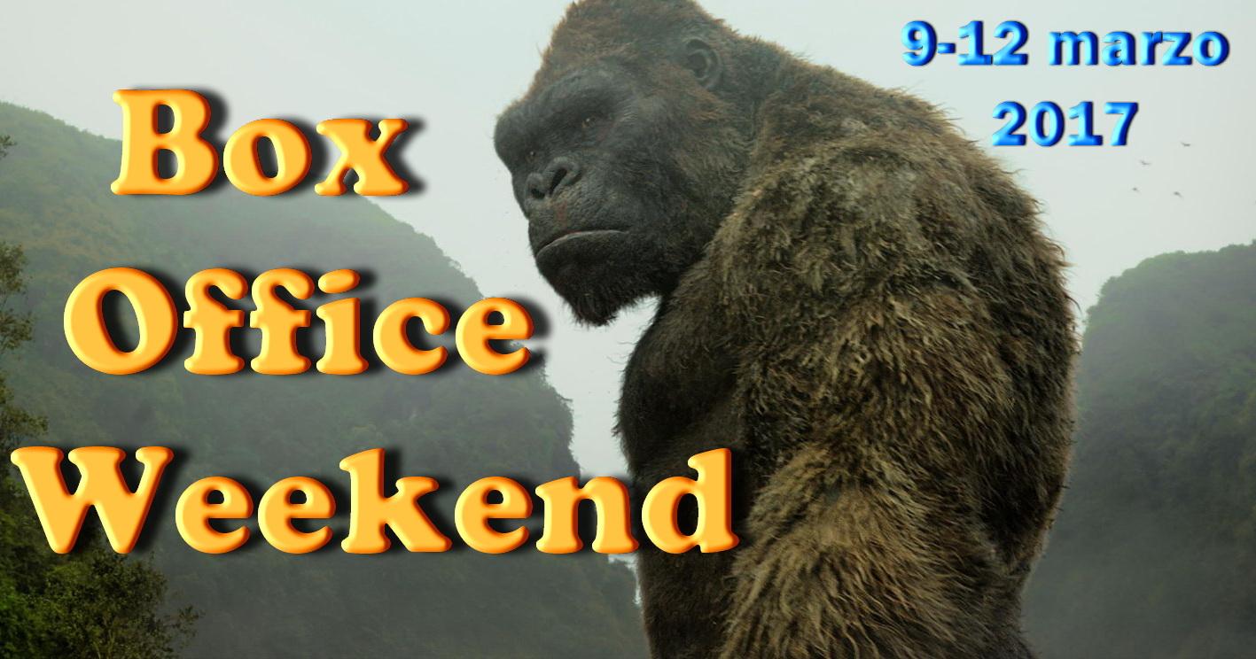 Secondo appuntamento di marzo con la rubrica Box Office Weekend e gli incassi del fine settimana al cinema: il reboot Kong: Skull Island stacca tutti, Logan non molla, ottimi esordi […]