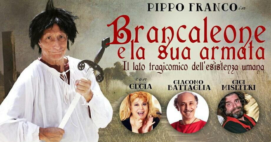 Pippo Franco tornaa teatrocon Brancaleone e la sua Armata – Il lato tragicomico dell'esistenza umana, divertente commedia ricca di gag manon priva di contenuti e di momenti di riflessione. Brancaleone […]