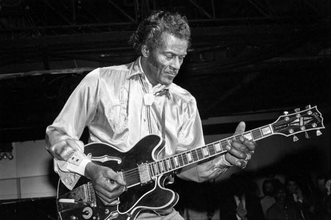 Chuck Berry nel 1983