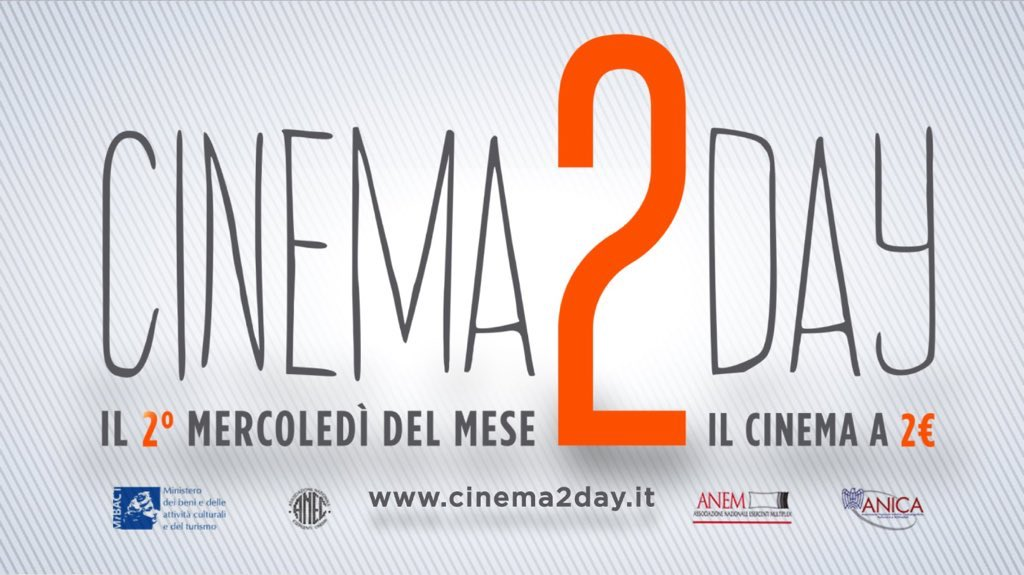 Torna Cinema2Day che ogni mese permette di andare al cinema pagando solo 2 euro. Cinema2Day, ufficialmente prorogato l'appuntamento conil cinema a soli 2 euro. Lo ha comunicato con un tweetil […]
