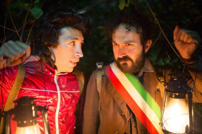 Herbert Ballerina e Maccio Capatonda in Omicidio all'italiana