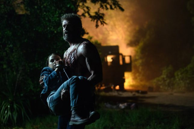 Hugh Jackman e Dafne Keen in Logan