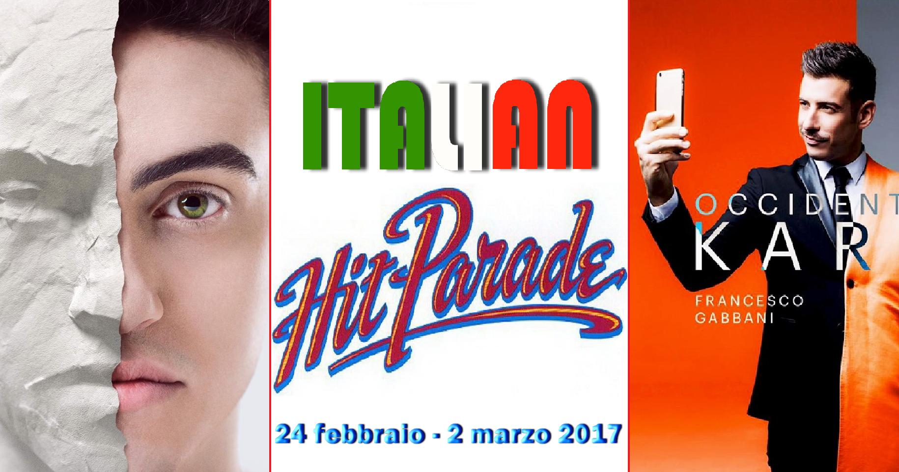Tra gli albumpodio tutto sanremese con Michele Bravi al primo posto;Gabbani e Sheeran si tengono ben saldi in vetta alla classifica dei singoli. Ecco l'Italian Hit Parade di questa settimana. […]