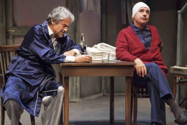 Quei due - Massimo Dapporto (Charlie) e Tullio Solenghi (Harry)