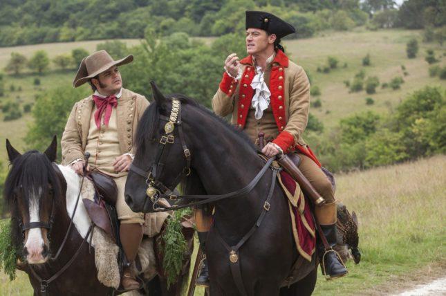 Josh Gad e Luke Evans in La bella e la bestia