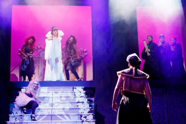 La regina di ghiaccio il musical: il principe di Persia sfida Turandot (Lorella Cuccarini)