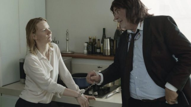 Vi presento Toni Erdmann: incomprensioni tra Ines (Sandra Hüller) e suo padre (Peter Simonischek)