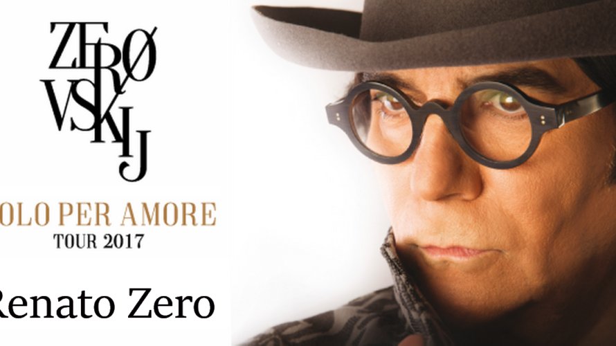 Per i suoi 50 anni di carriera Renato Zero riparte con un nuovo tour estivo in località prestigiose e con un impianto teatrale come mai prima d'ora, in una stazione […]