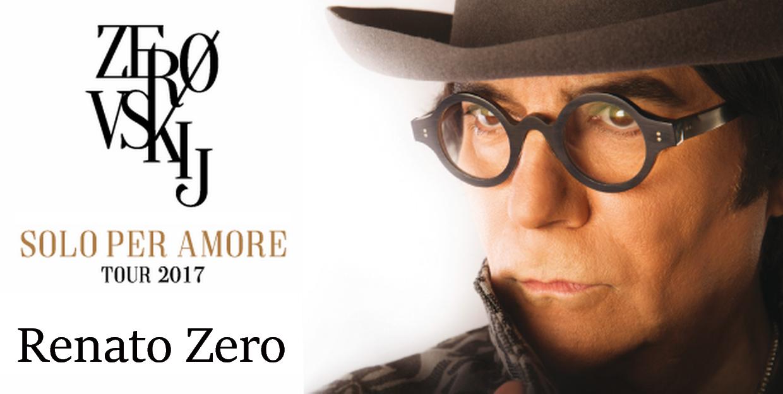 Renato Zero - Zrovskij banner