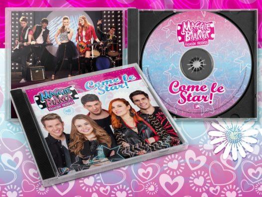 La copertina del CD della serie Come le star