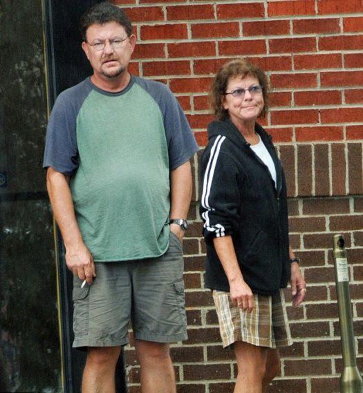Erin Moran e Steven Fleischmann 2012