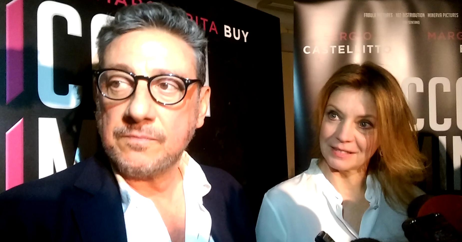 Intervista a Sergio Castellitto e Margherita Buy - Piccoli crimini coniugali (foto Ivan Zingariello)