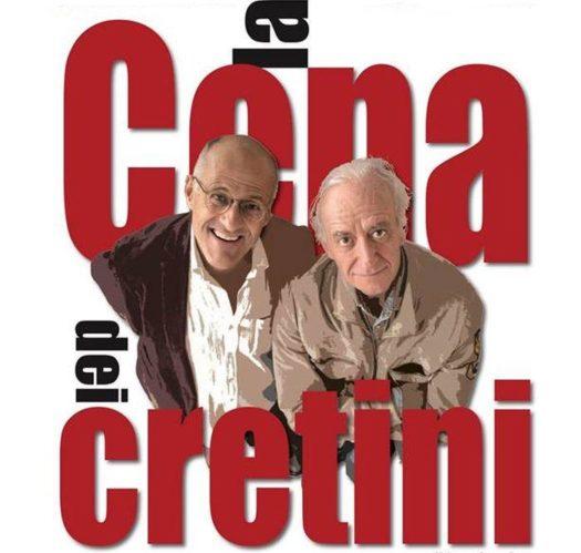 La cena dei cretini: i due protagonisti Paolo Triestino e Nicola Pistoia