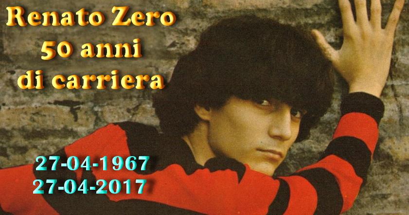 Renato Zero festeggia oggi i 50 anni dall'uscitadi Non basta, sai, il suo primo e leggendario 45 giri. Una data da ricordare per Renato Zeroquella di oggi, giovedì27 aprile 2017. […]