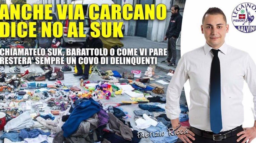 """""""Siamo contrari allo spostamento in Via Carcano del suk semplicemente perché siamo per la sua chiusura definitiva"""": così Fabrizio Ricca, capogruppo della Lega Nord in Sala Rossa, commenta la delibera […]"""