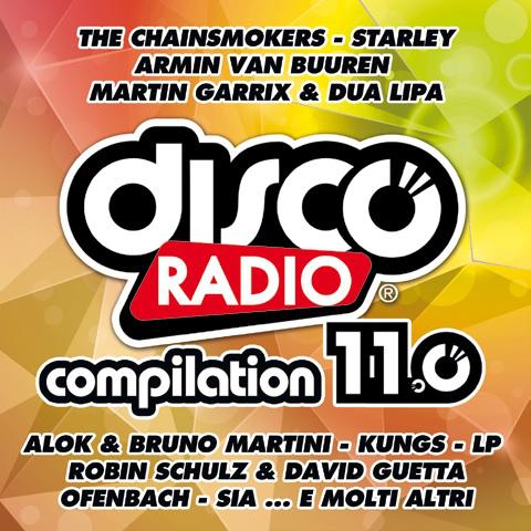 Disco Radio 11.0 entra direttamente sul podio delle compilation