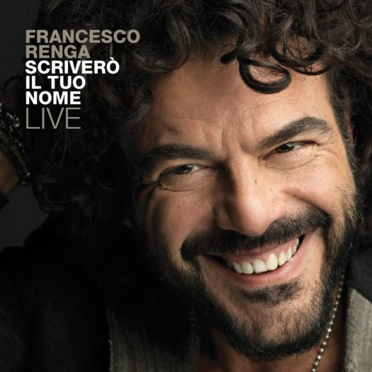 La copertina del primo disco live di Francesco Renga