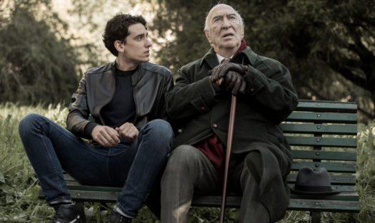Andrea Carpenzano e Giuliano Montaldo in Tutto quello che vuoi