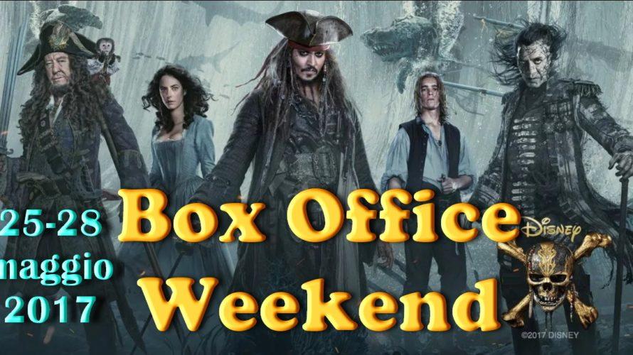 Ultimo appuntamento dimaggio con la rubrica Box Office Weekend e gli incassi del fine settimana al cinema: ottimo esordio di Pirati dei Caribi – La vendetta di Salazar, che fa […]