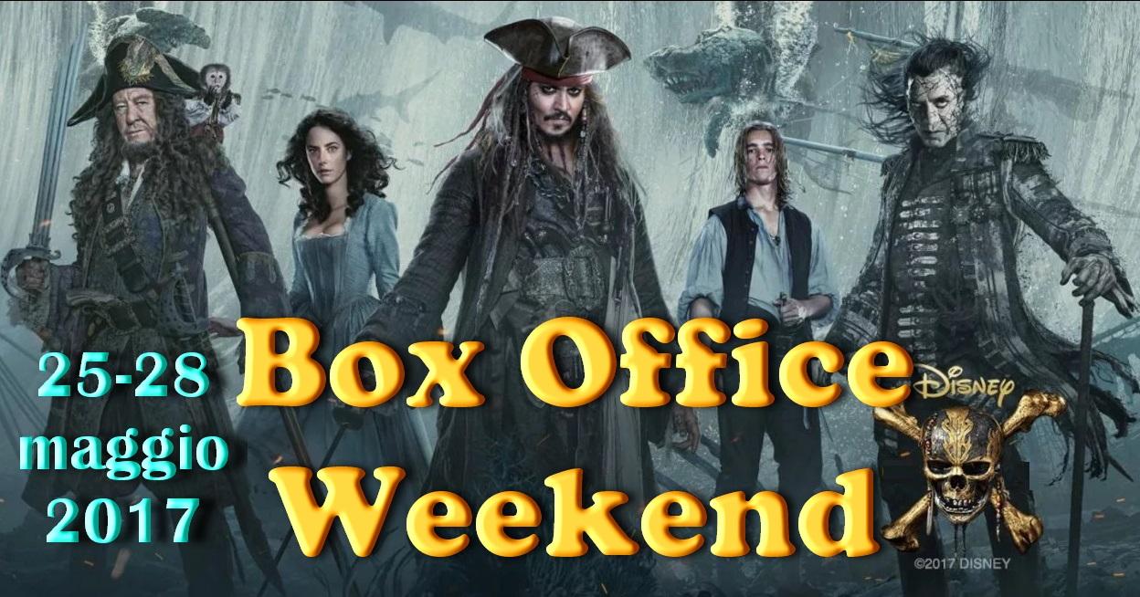 Box Office 29 maggio 2017 - Pirati dei Caraibi