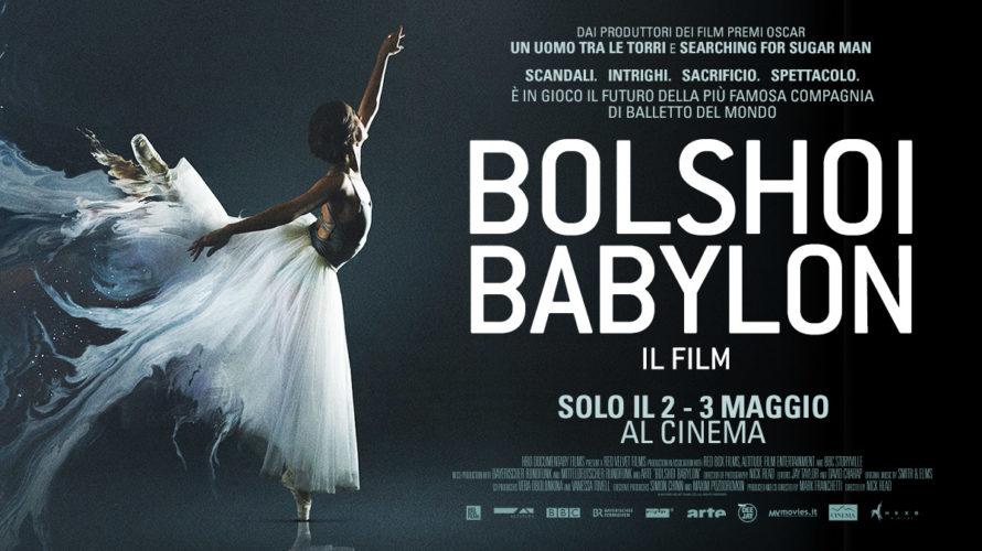 Bolshoi Babylon il documentario sullo storico teatro russo arriva nelle sale italianesolo il 2 e il 3 maggio. Bolshoi Babylon èildocumentario diretto dall'inglese Nick Read e co-diretto e prodotto dal […]