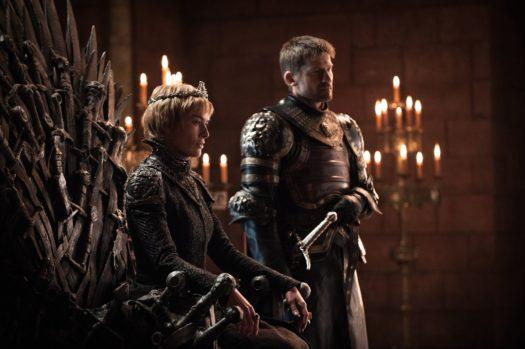 Cersei e Jaime Lannister nella settima stagione de Il trono di spade