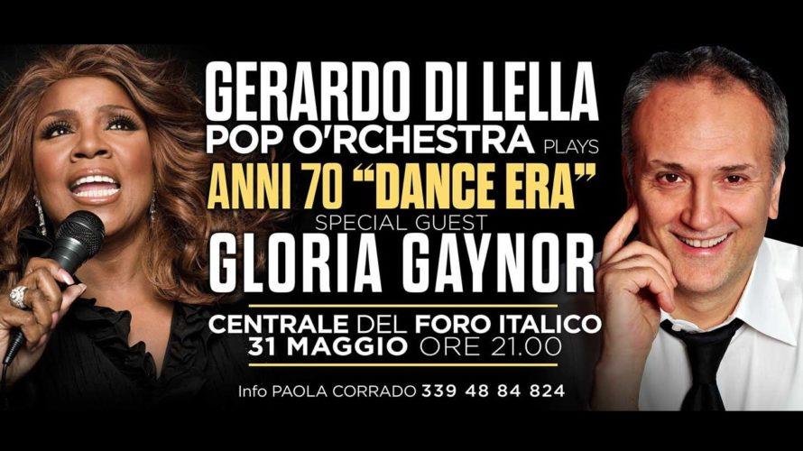 """La mitica Gloria Gaynor saràprotagonista a Roma del live Anni 70 """"Dance Era"""" con la Pop O'rchestra del Maestro Gerardo Di Lella al Centrale del Foro Italico il 31 maggio. […]"""
