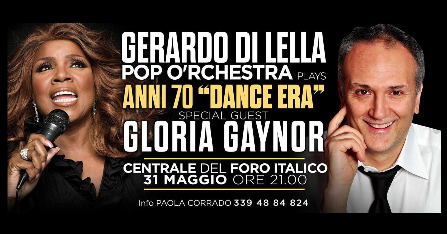 Gloria Gaynor e Pop O'rchestra Anni 70 Dance Era