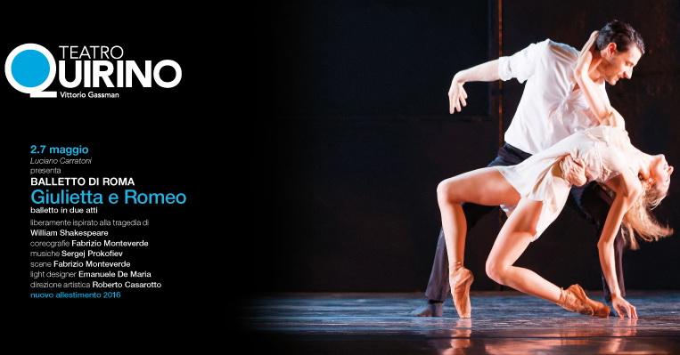 Fabrizio Monteverde dirige il Balletto di Roma in un classico intramontabile, Giulietta e Romeo, in scena dal 2 al 7 maggio al Teatro Quirino Giulietta e Romeo la più nota […]