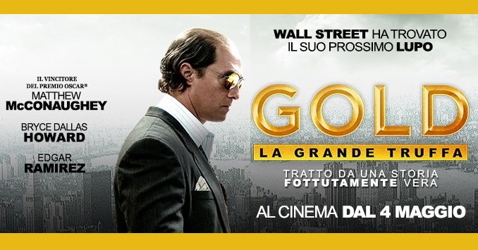 Matthew McConaughey, completamente trasformato anche fisicamente, intenso e viscerale interpreta il cercatore d'oro Kenny Wells nell'incredibile e avventurosa storia vera Gold – La grande truffa. Un'incredibile caccia all'oro Gold – La grande […]