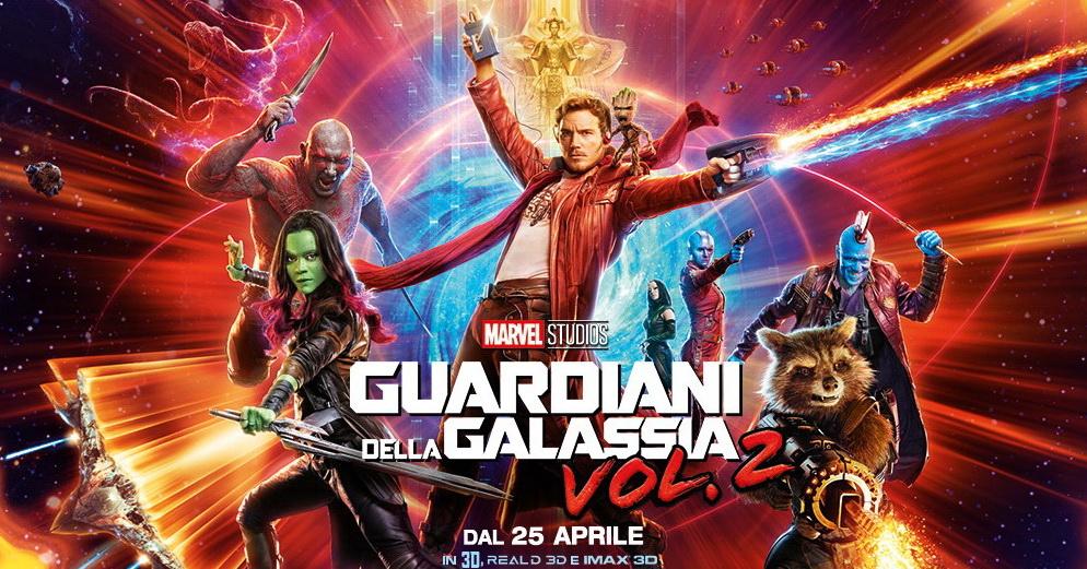 Guardiani della galassia vol. 2 - Locandina