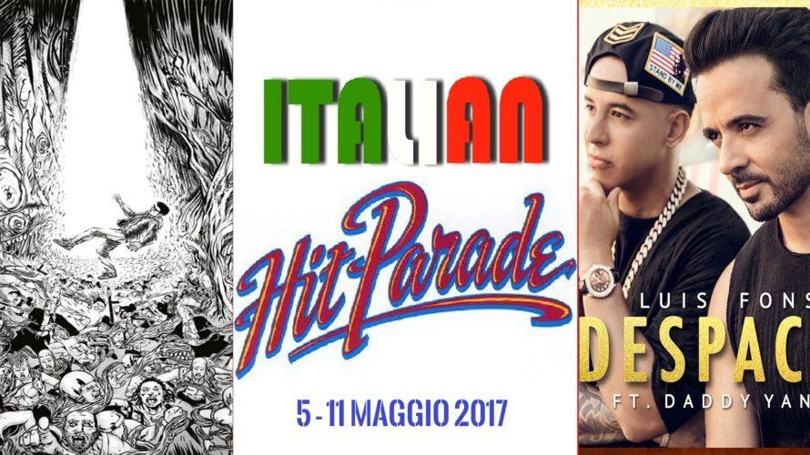 Il supervincitore Francesco Gabbani viene questa settimana accerchiato dai due rapper Izi e Coez. Tra i singoli non demorde Despacito, e anche tra i vinili il rap guadagna la medaglia […]