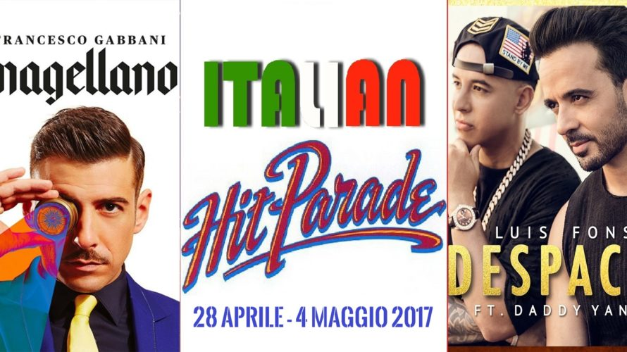Il vincitore dell'ultimo Festival di Sanremo Francesco Gabbani entra a gamba tesa sul podio con Magellano. Dietro di lui il primo live di Francesco Renga e il nuovo dei Gorillaz. […]