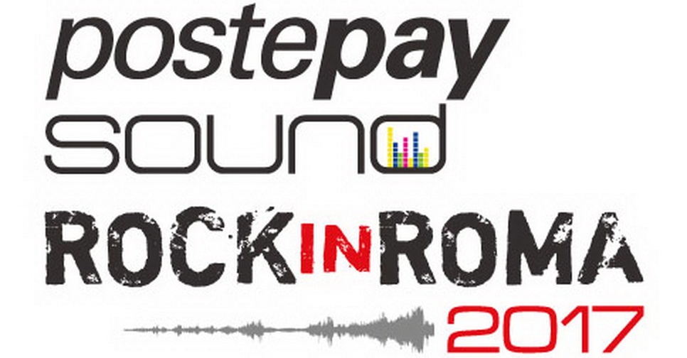 Logo Postepay Sound Rock in Roma 2017