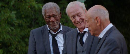 Morgan Freeman, Michael Caine e Alan Arkin in Insospettabili sospetti